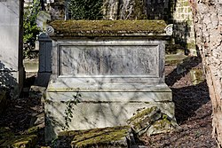 Grave of Ange-Marie d'Eymar