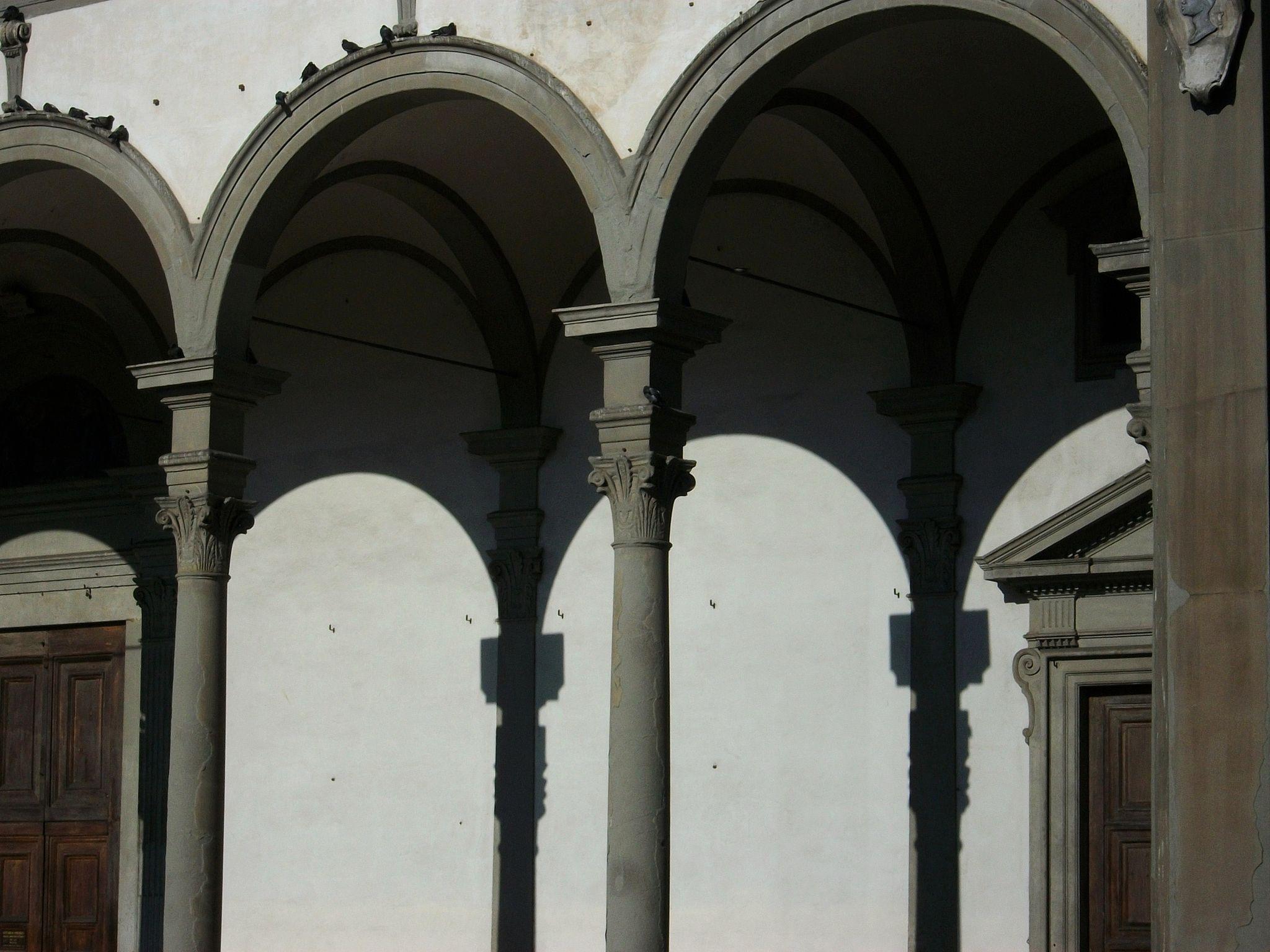 Pòrtic de la basílica de la Santissima Annunziata, Florència