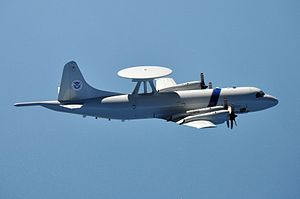P-3 AEW US Customs and Border Protection in flight 2009.jpg