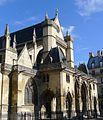P1040501 Paris Ier Eglise Saint-Germain l'Auxerrois de Paris façade ouest rwk.JPG