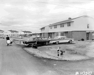 PMQ (military housing) - Married quarters at CFB Cold Lake, circa 1960