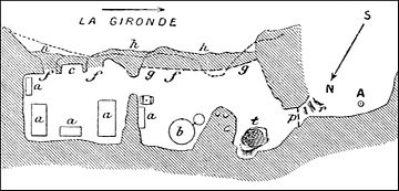 PSM V41 D054 Plan of the grotto la femme neuve meschers.jpg