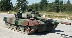 PT-91 auf der International Defence Industry Exhibition, Polen (2009)