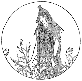 Cap-o'-Rushes - Batten's illustration from Jacob's English Fairy Tales