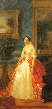 Painting of Archduchess Adelaide of Austria, Duchess of Savoy, Queen of Sardinia.jpg