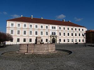 University of Osijek - Image: Palača Slavonske Generalkomande 2012