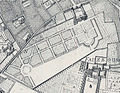 Palais du Luxembourg on 1672 Jouvin de Rochefort map of Paris - Gallica.jpg