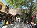 Palazzo dei gran maestri di rodi, porta di sant'antonio 01.JPG