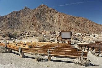Borrego Springs, California - Palm Canyon Campground amphitheater