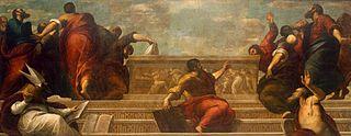 Apostles at the Virgin's Tomb