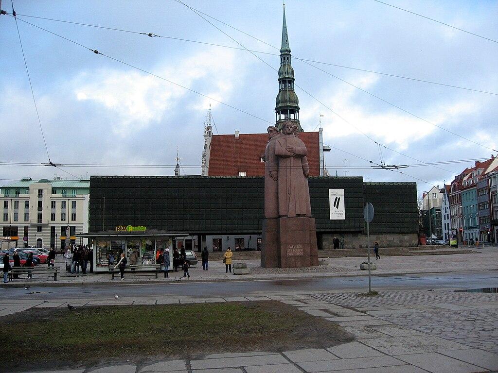 Památník Lotyšských střelců a Muzeum okupace