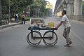Pani Puri Vendor - Salt Lake Bypass - Kolkata 2016-09-02 6755.JPG