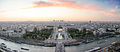 Panorama from the Eiffel Tower at the sunset, Paris 20 April 2013.jpg