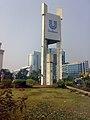 Panthakunja with the Basundhara City.jpg