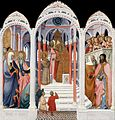 Paolo di Giovanni Fei. c. 1400 Presentation of the Virgin.National Gallery of Art (Washington, D.C.).jpg