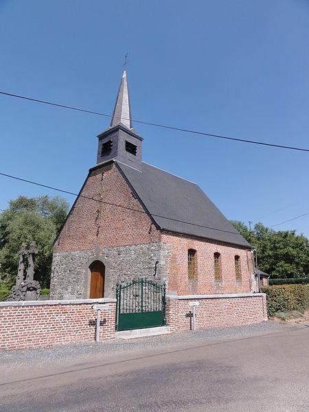 Papleux (Aisne, Fr) église