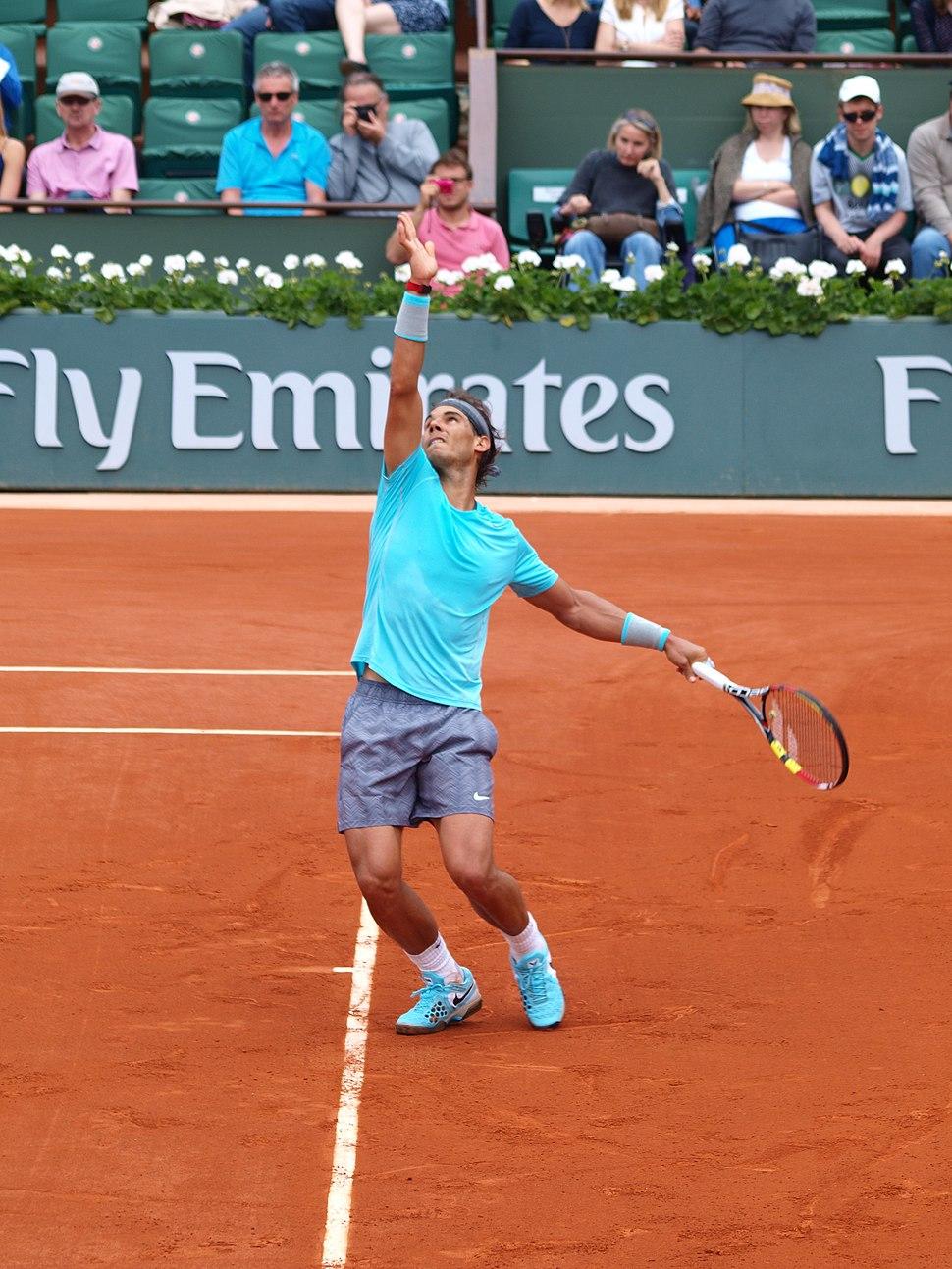 Paris-FR-75-Roland Garros-2 juin 2014-Nadal-14