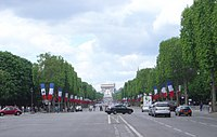 Paris Champs Elysees westwards DSC03316.JPG
