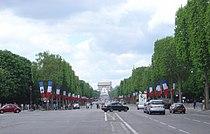 Paris Champs Elysees westwards DSC03316.JPG