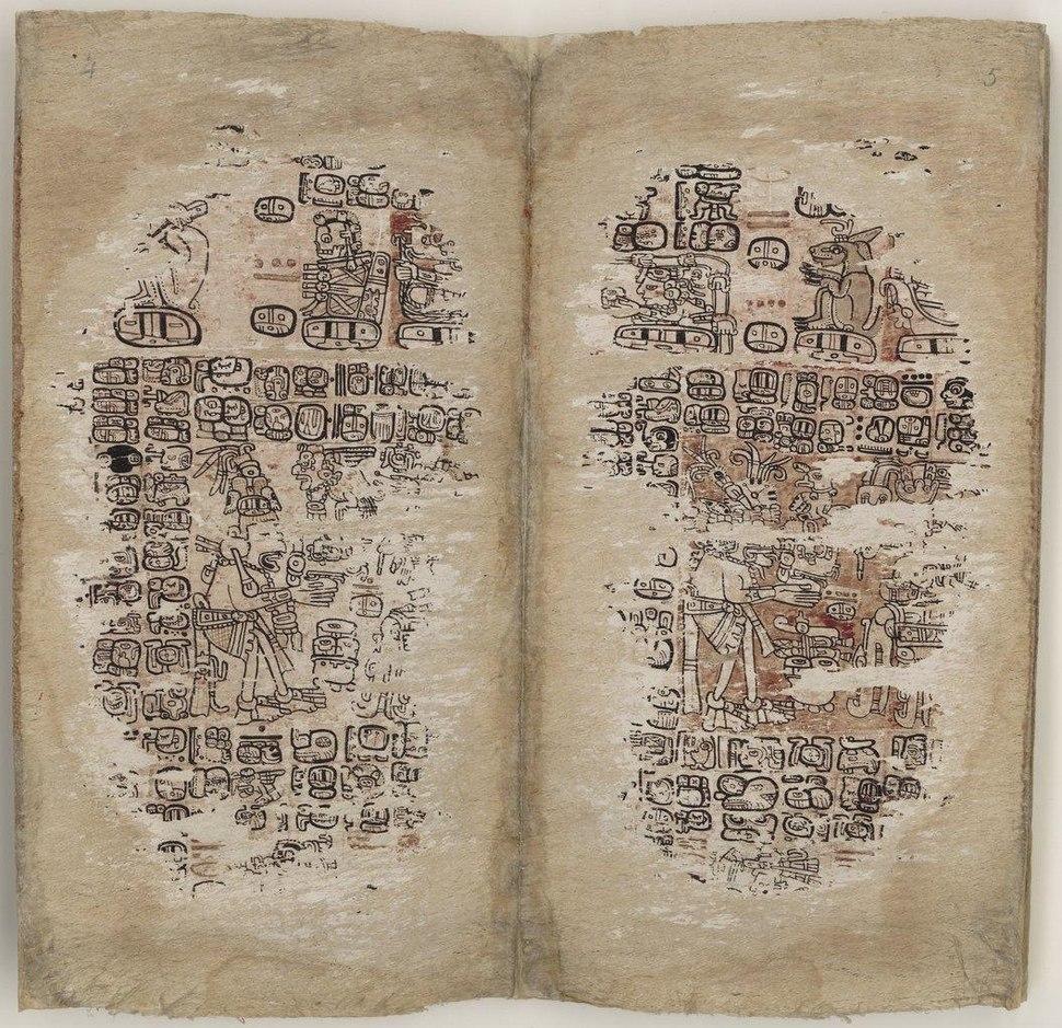 Paris Codex, pages 4-5