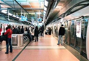 Sydney Metro (2008 proposal) - Paris Métro Line 14 was cited as a model for the project