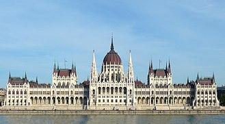 Austria-Hungary - Hungarian Parliament building