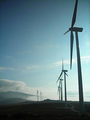 Iberdrola - Iberdrola wind generators in the Park La Cotera (Burgos).
