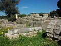 Part posterior del temple de Zeus a Olímpia.JPG
