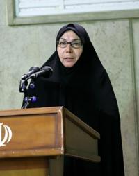 Parvaneh Massoumi meeting Iranian leader.png