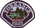Patch of the Torrance Police Department (former).png