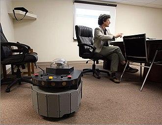 Jeanne Dietsch - PatrolBot watches MobileRobots founder Jeanne Dietsch