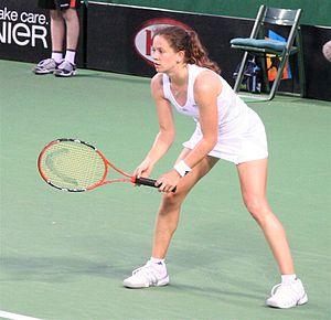 Patty Schnyder - Patty Schnyder at the 2007 Australian Open.