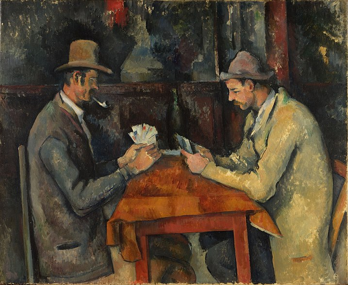 File:Paul Cézanne, 1892-95, Les joueurs de carte (The Card Players), 60 x 73 cm, oil on canvas, Courtauld Institute of Art, London.jpg
