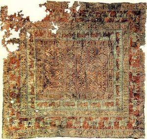 Ukok Plateau - Pazyryk carpet, 5th century BC