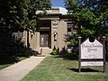 Peabody Township Carnegie Library in Peabody, Kansas.jpg