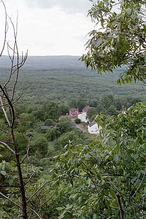 Peak Mountain - Old Newgate Prison and Salmon Brook Valley from Peak Mountain