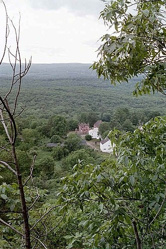 East Granby, Connecticut - Old Newgate Prison from Peak Mountain