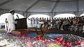Pearl Harbor Sailors bid farewell to USS Port Royal Skipper 141031-N-IU636-108.jpg
