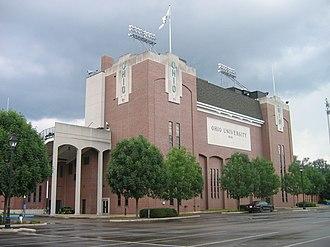 Peden Stadium - Press Box Exterior 2008