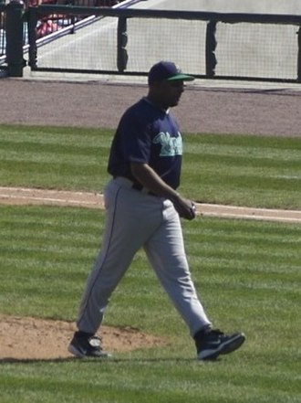 Pedro Borbón Jr. - Borbón with the Cedar Rapids Kernels in 2007