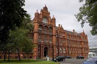 University of Salford - The oldest surviving building, housing the Royal Technical Institute upon its foundation, is now known as the Peel Building.