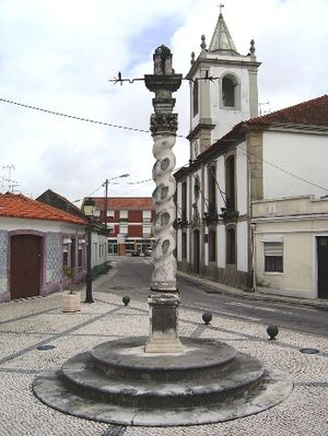 Esgueira - The pillory that marked Esgueiras short history as municipal seat