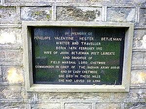 Penelope Chetwode - Penelope Chetwode memorial. Near Sarahan, Himachal Pradesh
