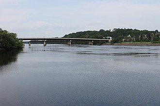 Penobscot River - The Penobscot at Bangor, Maine