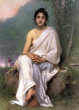 Ruhe, meine Seele! - Meditation by Perrault, 1893.