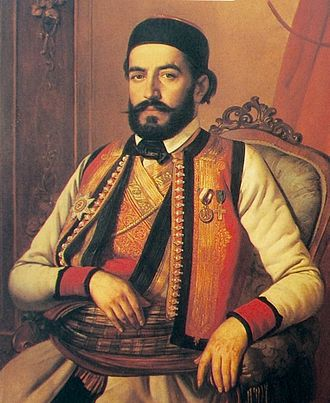 Prince-Bishopric of Montenegro - Petar II Petrović Njegoš, Lord of Montenegro, poet and philosopher.