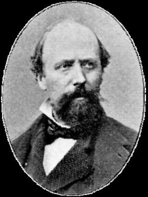 Peter Eskilsson - Portrait of Eskilsson from the Svenskt Porträttgalleri, published in 1901