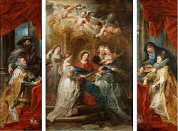 Peter Paul Rubens: Ildefonso Altarpiece
