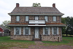 Peter Wentz Homestead, built 1758
