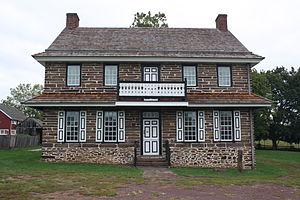 Worcester Township, Montgomery County, Pennsylvania - Peter Wentz Homestead, built 1758